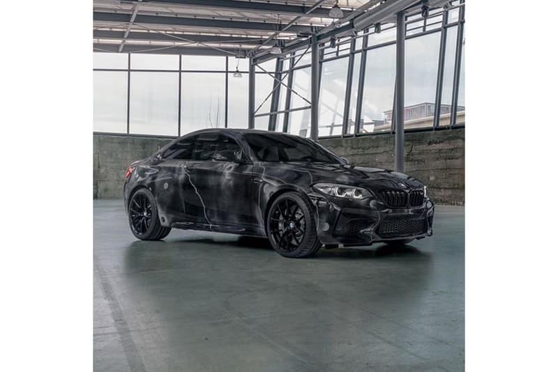 フューチュラ Futura × BMW によるコラボアートカーの全貌が明らかに Futura 2000 x BMW M2 Art Car for Frieze LA 2020 First Look Art World Announcement Closer Look @futuralaboratories graffiti artist hand painted