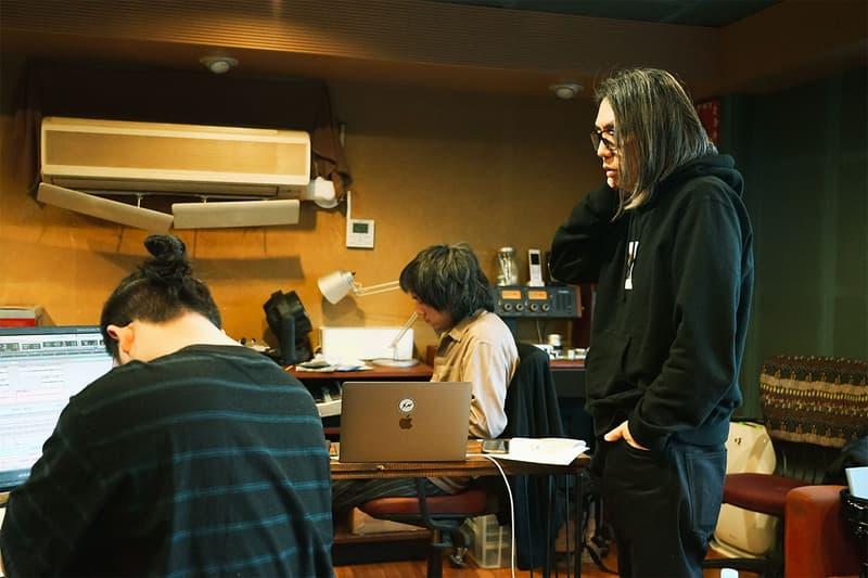 hiroshi fujiwara 藤原ヒロシ fragment design フラグメント デザインの新作アルバム制作現場に潜入 『slumbers』以来となる