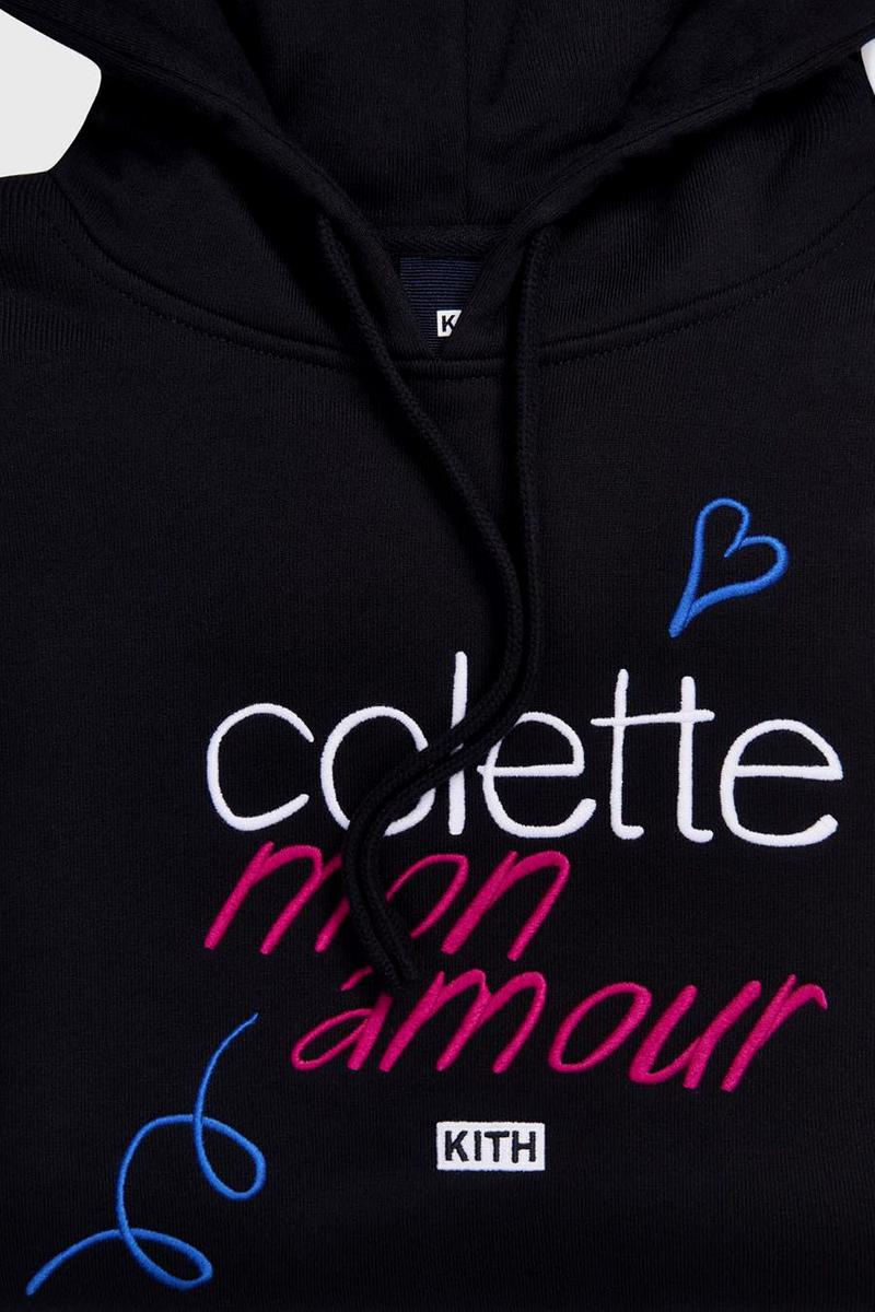 Ronnie Fieg ロニー・ファイグ キス KITH Releases Special colette コレット x KITH Hoodie collaborations コラボレーション フーディー  paris homage Colette, Mon Amour documentary ドキュメンタリー pop up