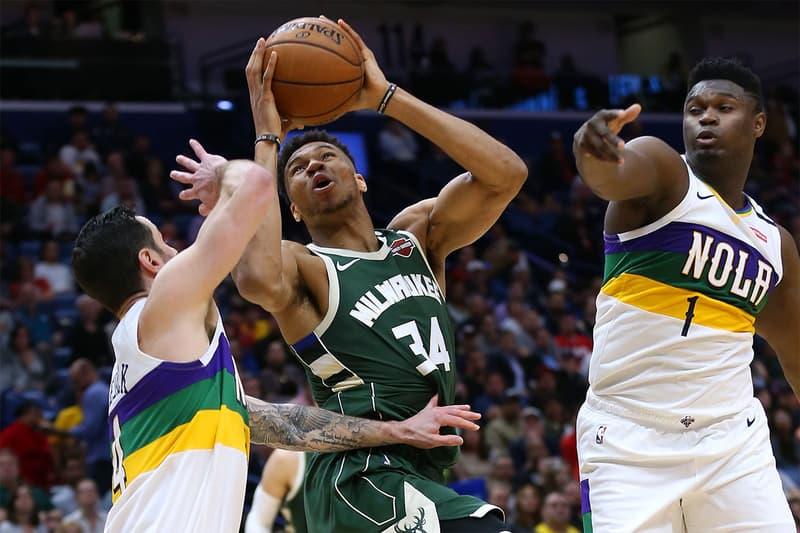 NBA ペリカンズの怪物 ザイオン・ウィリアムソンがヤニス・アデトクンポと初対決 Zion Williamson Giannis Antetokounmpo
