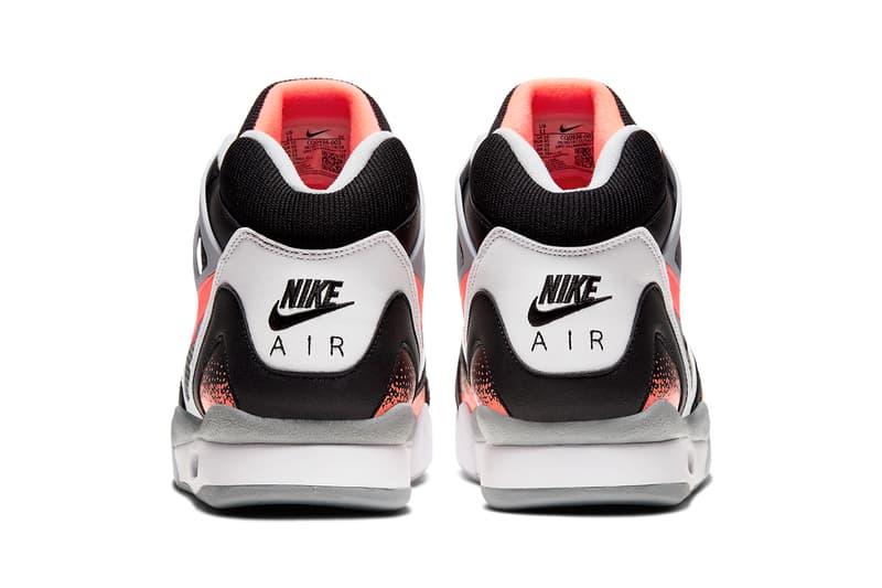 ナイキ エアテックチャレンジ2 Nike の伝説のテニスシューズ Air Tech Challenge 2 が新たなカラーウェイを纏って復刻 nike air tech challenge 2 ii black lava white grey CQ0936 001 nikecourt andre agassi release date info photos price