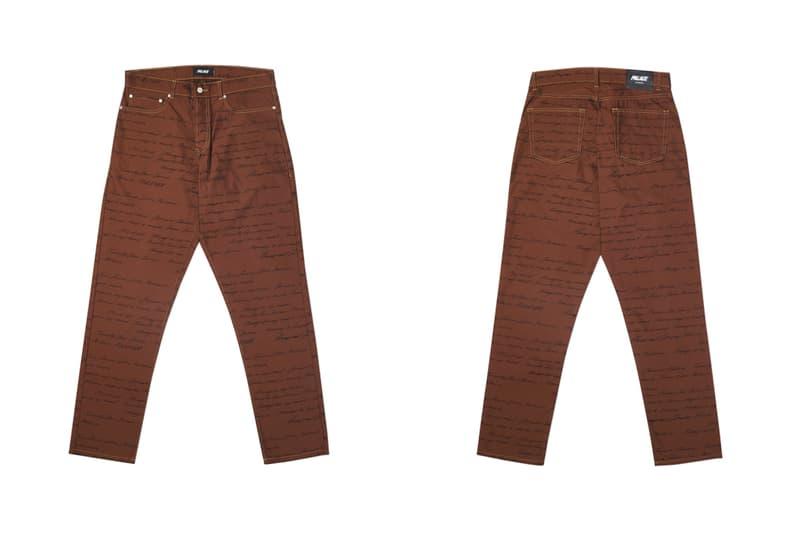パレス 2020年春コレクション発売アイテム一覧 - パンツ Palace skateboards spring 2020 trousers denim jeans waterfall print cargo track pants joggers script buy cop purchase