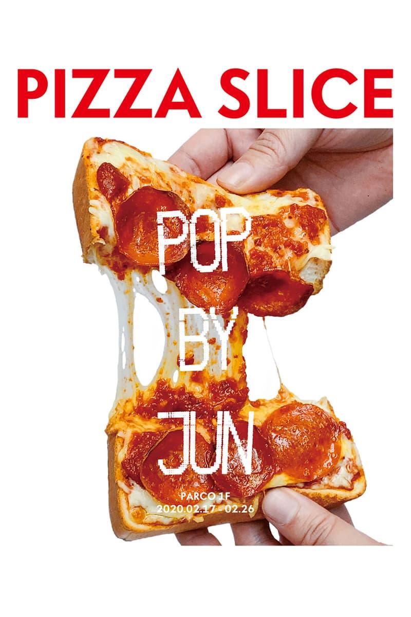 ピザスライス パルコ PIZZA SLICE が渋谷PARCO の POP BY JUN にてピザトーストを販売