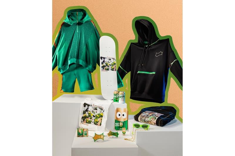 Sprite Ginger スプライト ジンジャー Launch ローンチ 発売 ストリート カプセル コレクション コカコーラ Streetwear Collection Release ジェフ ステイプル Jeff Staple Flavor Where Buy