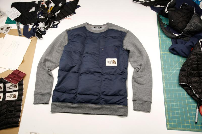 The North Face から世界に1つだけのアップサイクルガーメントが登場 The North Face Renewed Design Residency Auction explore fund charity sale custom upcycle old vintage jackets fleece item clothing