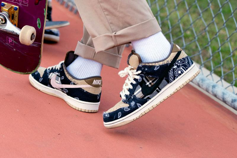 トラヴィス・スコット x ナイキSB ダンクの発売店舗一覧 Travis Scott Nike SB Dunk Low Cactus Jack Official Store List ct5053-001 Release Info Buy Price Black Parachute Beige Petra