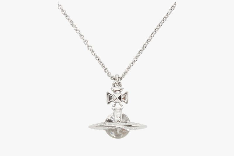 Vivienne Westwoodからネックレス・ペンダントが登場 vivienne westwood silver crystal small orb pendant necklace hecuba ornella double-sided pendant brass swarovski crystal perspex
