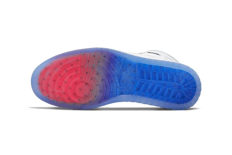 """エアジョーダン 1 ハイ ズーム""""レーサーブルー"""" 鮮やかなブルーを取り入れた Air Jordan 1 High Zoom """"Racer Blue"""" が発売 air Jordan 1 high zoom air racer blue white grey CK6637 104 release date info photos price"""