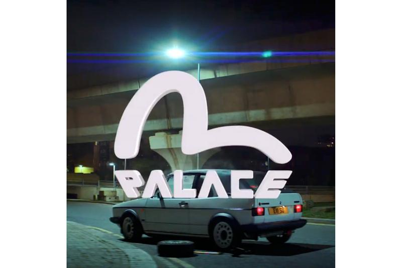 パレスがエヴィスとのコラボレーションをアナウンス EVISU Palace Skateboards Collaboration Teaser Info Release Date