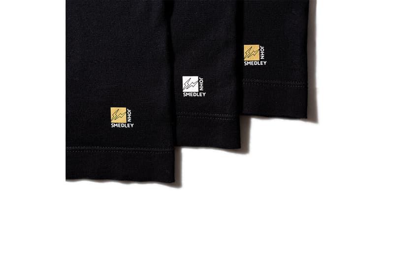 """藤原ヒロシ フラグメント x ジョンスメドレー fragment design x John Smedley から""""世界一高級な""""パックTシャツが登場"""