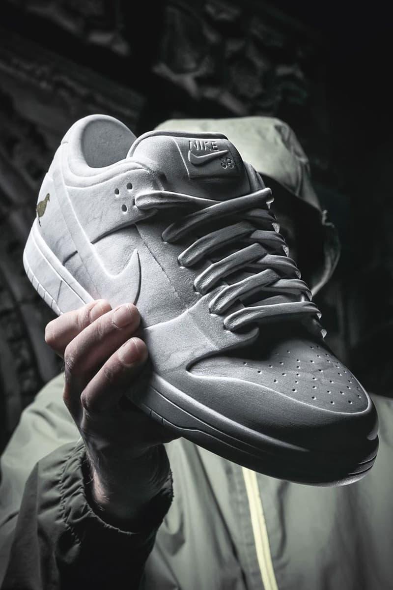 """ステイプル ナイキ SB ダンク ロー """"ピジョン"""" Staple から大理石製の Nike SB Dunk Low """"Pigeon"""" が登場"""