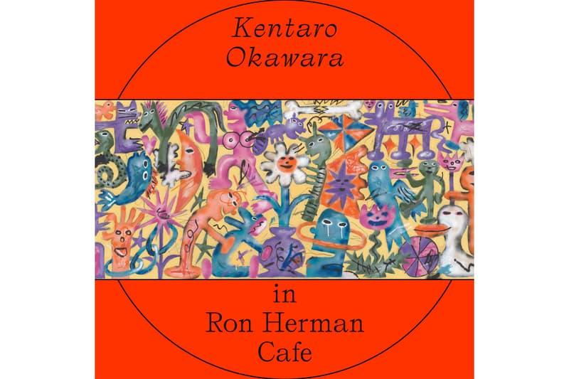 ロンハーマン カフェ 国内外で活躍する新鋭アーティスト/ペインター 大河原健太郎の個展が千駄ヶ谷 Ron Herman Café で開催