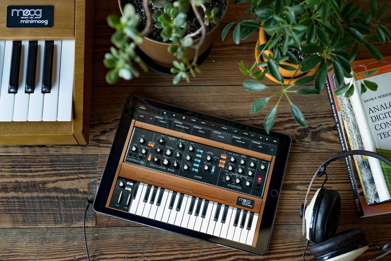 モーグ コルグ Moog と KORG がシンセサイザーアプリを期間限定で無料提供 Moog and Korg Release Free Synthesizer Apps