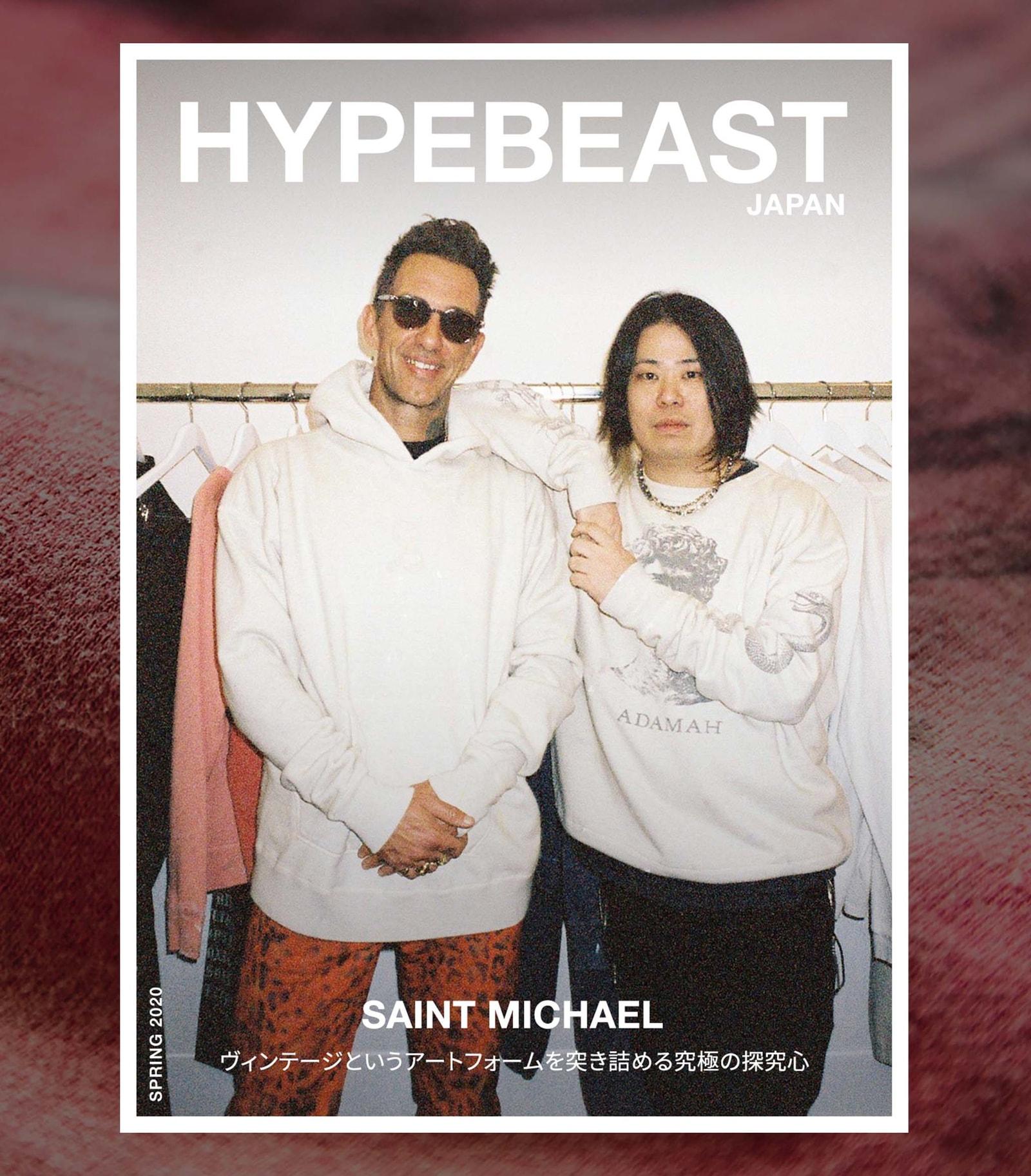 セントマイケル SAINT MICHAEL レディメイド READYMADE の細川雄太とカリ・ソーンヒル・デウィット Cali Thornhill DeWitt による新ブランド