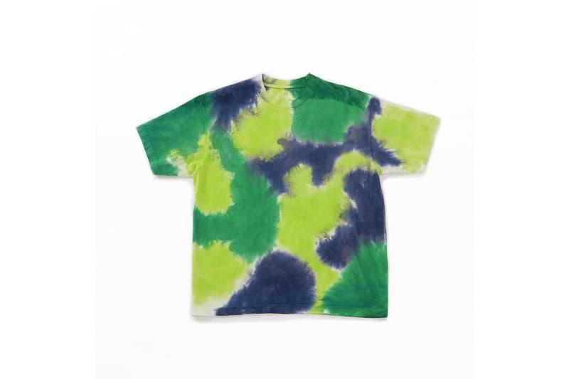 MINE マインがSUICOKE スイコックと作ったMADE IN USAのタイダイ染めTシャツ