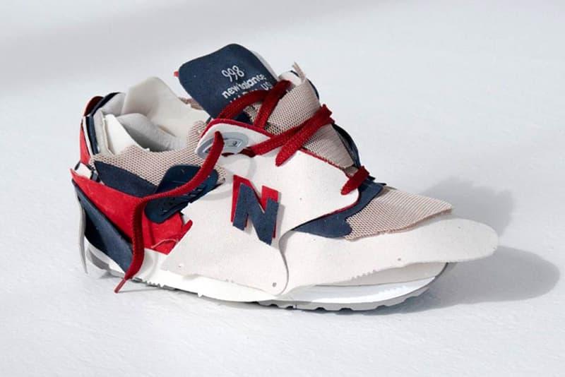 ランダムに再構築された New Balance 998 を数量限定で発売 new balance made in us 998 surplus random materials 100 pairs release date info photos price