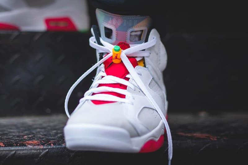 """バッグス・バニー Bugs BunnyをテーマとしたAir Jordan 6""""Hare""""が登場 Nike Air Jordan 6 Hare Closer Look CT8529-062 space jam lebron james bugs bunny Lebron James"""