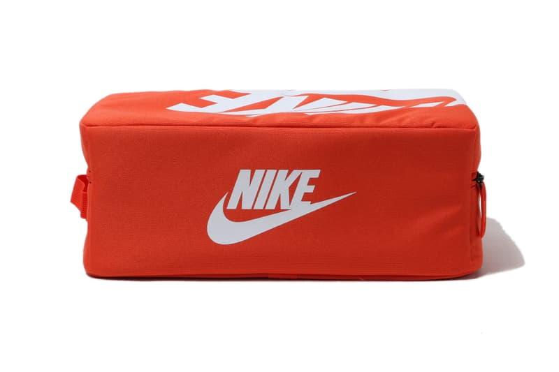 Nike を象徴するシューボックスをモチーフにしたバックが登場 nike sportswear shoebox bag red white ba6149 810 release date info photos price shoe sneakers box orange