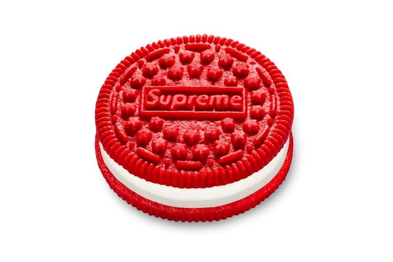シュプリーム x オレオがいよいよ発売へ Supreme Teases Oreo Collab Drop, Release Date cookie double stuf red buy web store