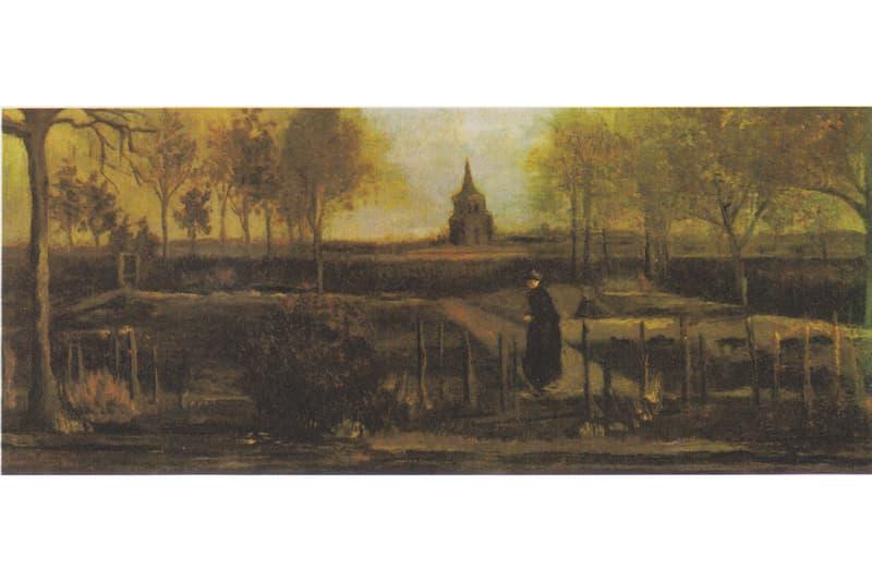 新型コロナウイルスの影響で閉鎖中の美術館からゴッホの絵画が盗難 Vincent van Gogh Singer Laren Museum Netherlands 'The Parsonage Garden at Nuenen in Spring' 1884 Painting