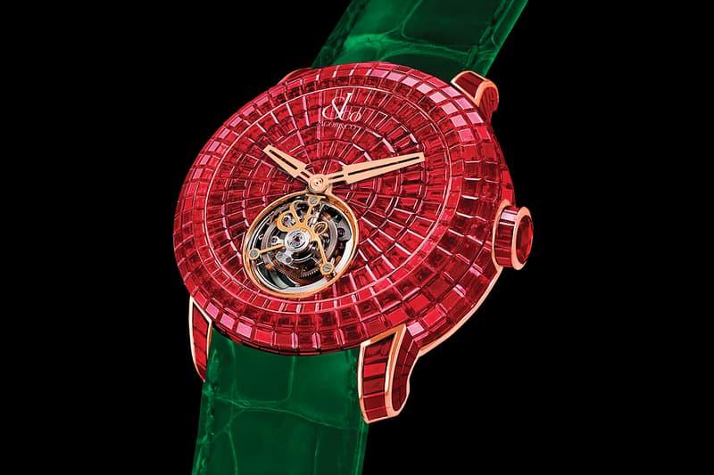 ヴァージル・アブローが約1億円以上にも相当する Jacob & Co. の腕時計を披露 Jacob & Co. Virgil Abloh Ruby Caviar Flying Tourbillon News  watches stones diamonds watches swiss Off-white Louis Vuitton Tourbillon Jacob Arabo