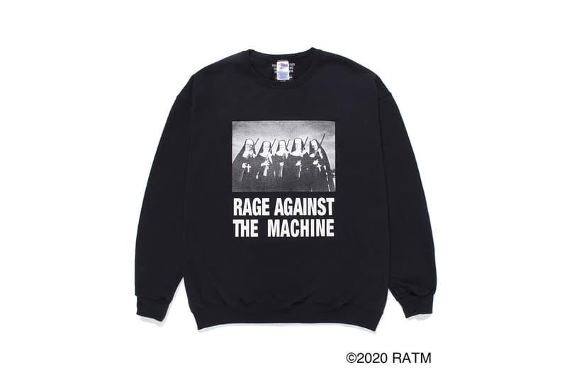 ワコマリア レイジ・アゲインスト・ザ・マシーン がRATMとのコラボアイテムが発売 WACKO MARIA から伝説の社会派バンド Rage Against The Machine とのコラボアイテムが発売