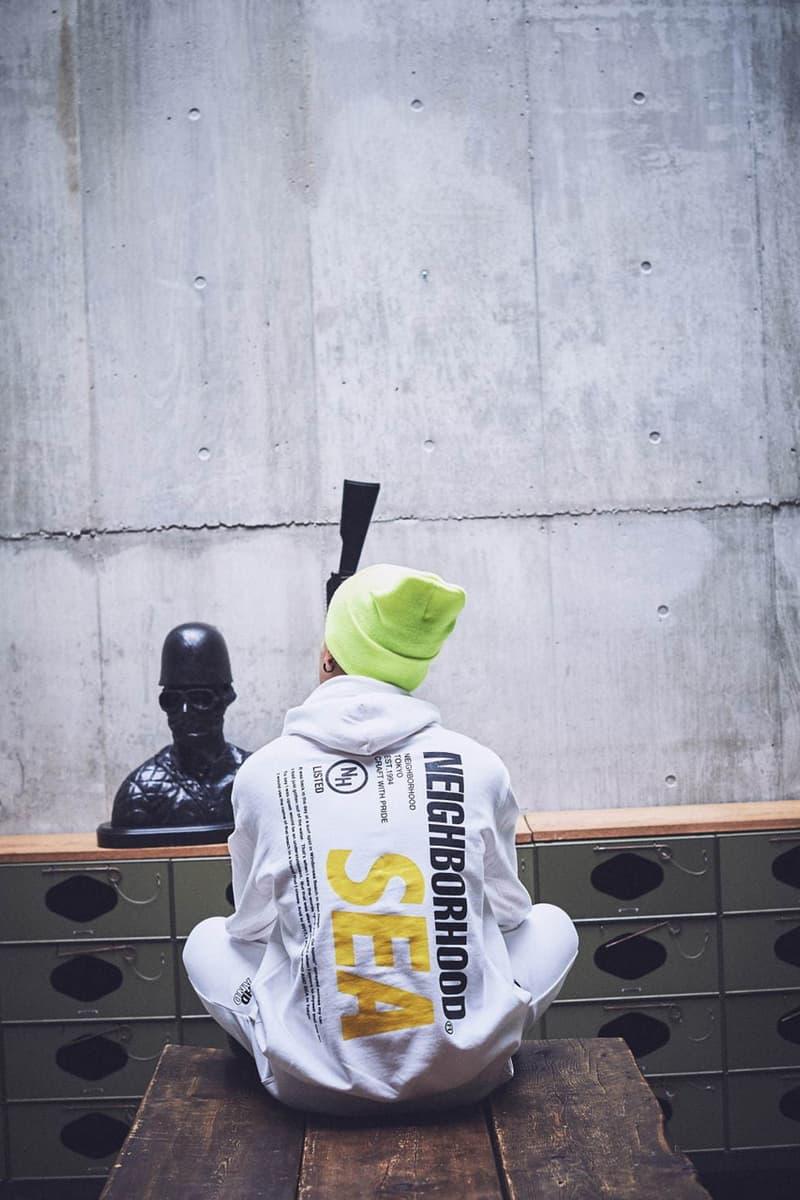 ネイバーフッド ウィンダンシー NEIGHBORHOOD が WIND AND SEA との初のコラボコレクションを発売 WIND AND SEA X NEIGHBORHOOD SS20 Capsule Collaboration collection spring summer 2020 release date japan info buy march 28