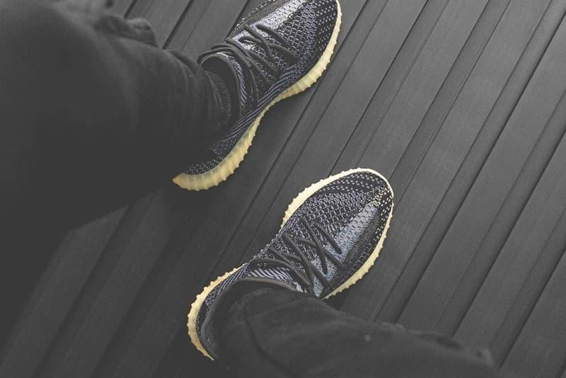 イージーブースト 今夏発売と噂される YEEZY BOOST 350 V2 新色2型の着用ビジュアルが浮上 adidas YEEZY BOOST 350 V2 Asriel Israfil Closer On Foot Look Release Info