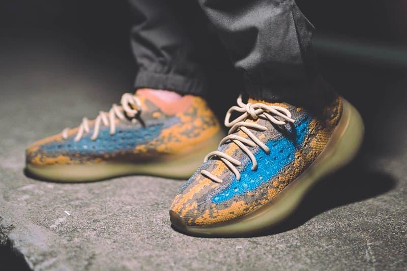 """アディダス + カニエ・ウェスト イージーブースト adidas + KANYE WEST による最新モデル YEEZY BOOST 380 """"Blue Oat"""" のビジュアルが浮上  adidas YEEZY BOOST 380 Blue Oat Detailed Look Release Info FY5137 Date Buy Price Kanye West"""