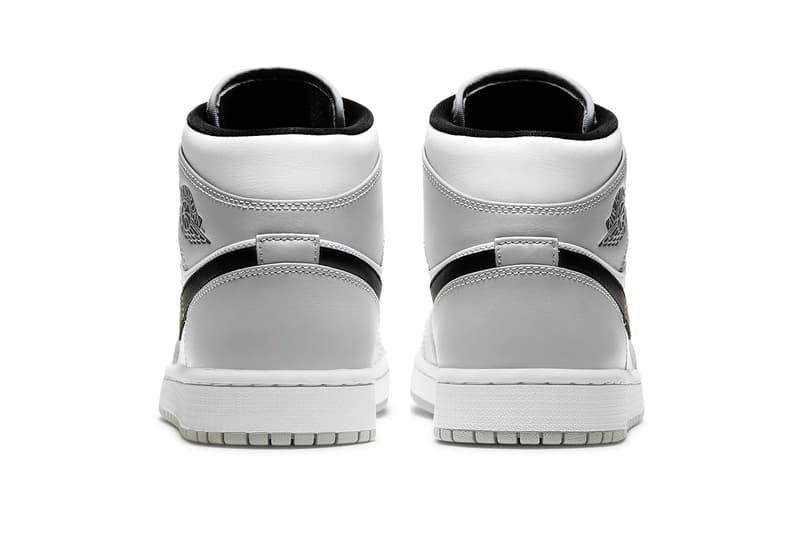ディオールのコラボに酷似する? エアジョーダン 1 Midが登場 ナイキ Air Jordan 1 Mid Light Ash White Black Release Info Buy Price 554724-092