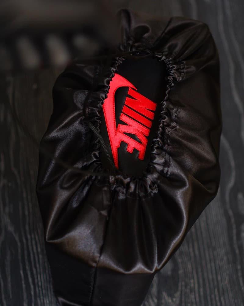 エアジョーダン 1  高級感溢れるブラックサテンのボックスが付属したカスタム Air Jordan 1 が登場 Custom Satin Air Jordan 1 Sneaker Box: Where to Buy Hoopfr3sh Custom Sneakers