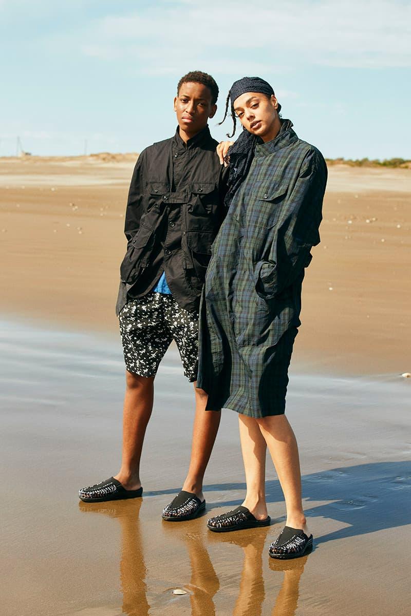 engineered garments keen uneek 2 slide sandal black white release date info photos price