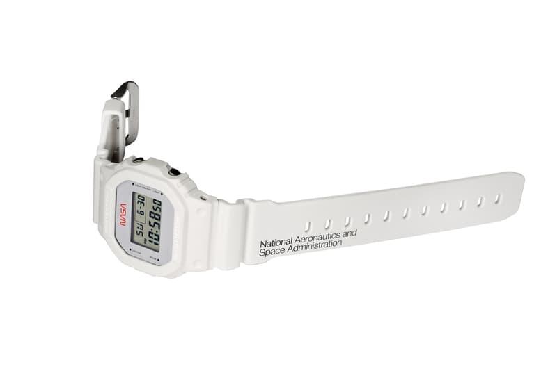 ジーショック ナサ G-SHOCK から NASA をテーマにした新作ウォッチ DW-5600 が登場 G-Shock NASA DW5600NASA20-7CR casio watch timepiece collaboration astronaut american flag set National Aeronautics and Space Administration all systems go