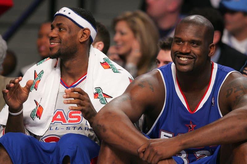 レブロン・ジェームズがシャックの薄毛の原因を解明?Shaquille O'Neal(シャキール・オニール) LeBron James(レブロン・ジェームズ) NBA