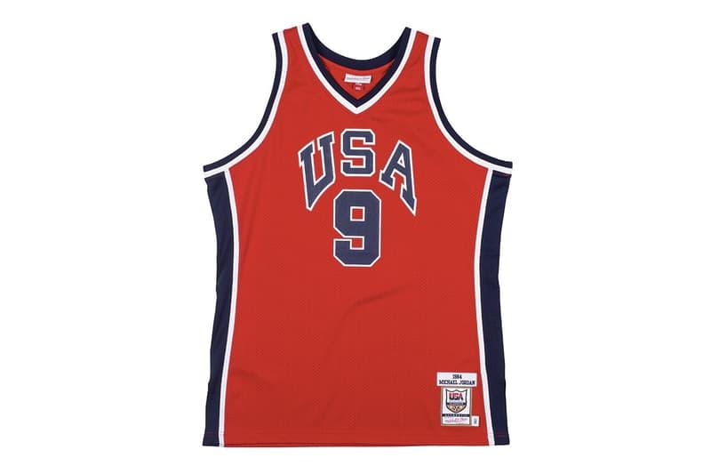 Mitchell & Ness から1984年オリンピックで Michael Jordan が着用したユニフォームジャージのセットアップが登場 Mitchell and Ness Michael Jordan 1984 USA Olympic Jersey Retro Re Release Authentic The Last Dance Bobby Knight Los Angeles California CA Basketball Uniform Throwback HYPEBEAST