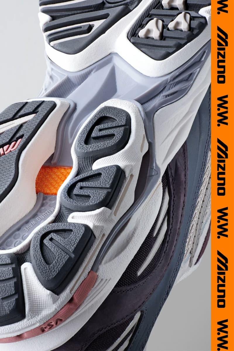 """ミズノ ウッドウッド ウェーブライダー 10 MIZUNO ミズノ グローバルプロジェクト""""KAZOKU""""の第25弾は WoodWood とのコラボによるWAVE RIDER 10 の復刻モデル"""