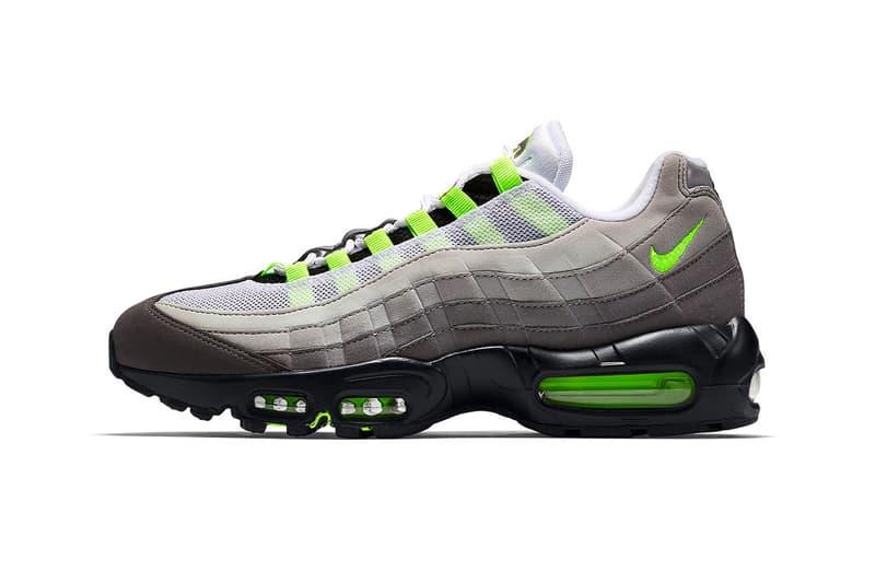 """イキ エアマックス 95 OG """"ネオン"""" Nike Air Max 95 OG """"Neon"""" が2020年内に復刻リリースの噂が浮上 Nike Air Max 95 OG Neon Release Rumor CT1689-001 Info Date Buy Price"""