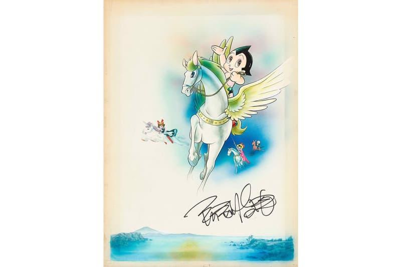 サザビーズ Sotheby's 香港が日本の漫画をテーマにしたオンラインオークションを開催