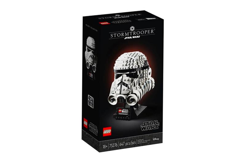 レゴ LEGO® から映画『スター・ウォーズ』悪役キャラクターのヘルメットコレクションがリリース star wars day may the 4th lego helmets Tie fighter pilot stormtrooper boba fett collaboration collection 40th anniversary Empire Strikes Back