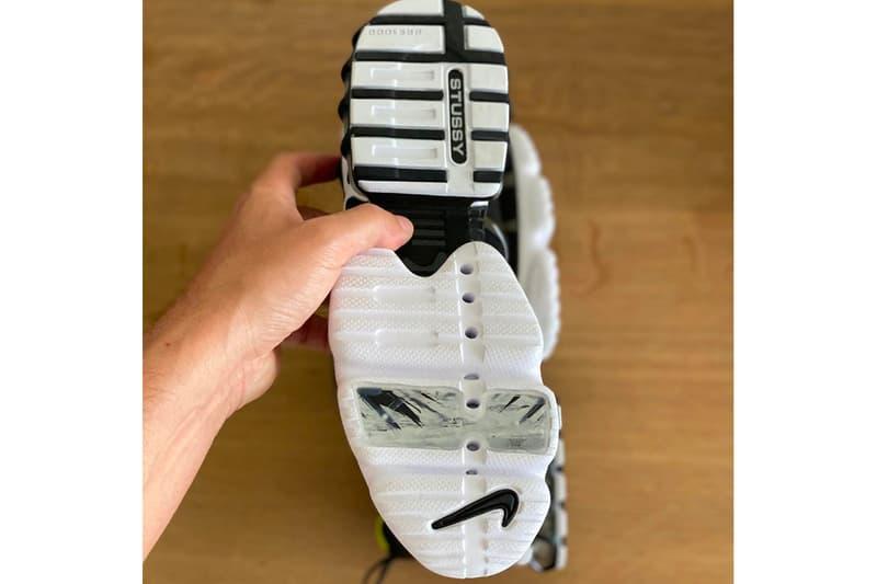 ステューシー ナイキ  STÜSSY & Nike による新たなコラボフットウエアの噂が浮上 Stüssy x Nike Air Zoom Spiridon KK Best Look Yet Release Info CJ9918-100 CJ9918-001 White Black Habanero Red Bright Cactus Buy Price