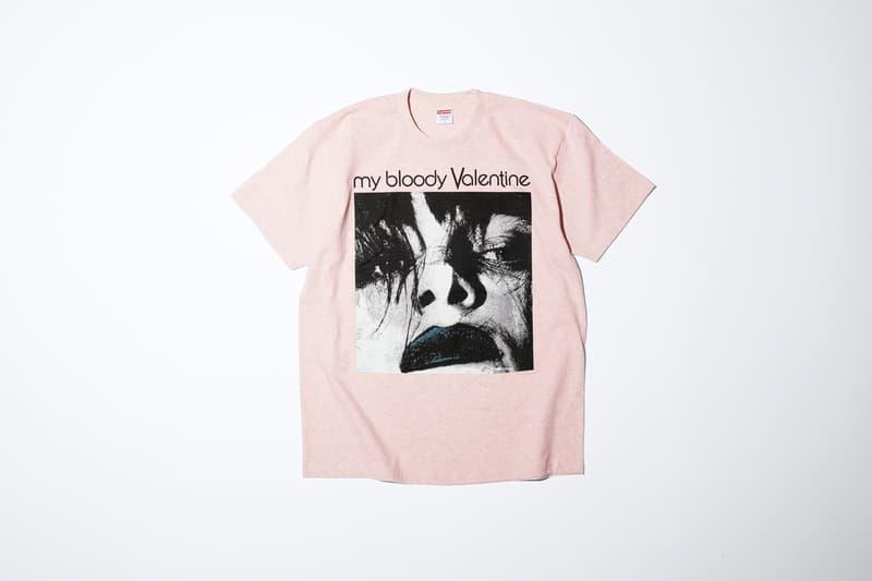 シュプリームがマイブラッディヴァレンタインとのコラボを発表 Supreme がマイブラこと My Bloody Valentine とのコラボコレクションを発表