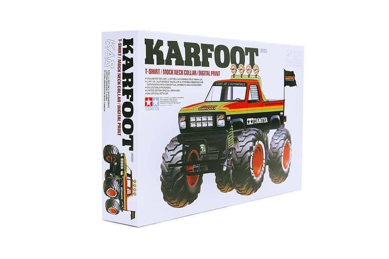 カー x タミヤ KAR x TAMIYA によるコラボコレクション KARFOOT の国内展開がスタート