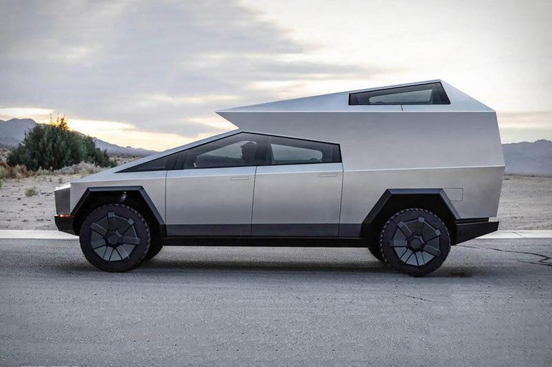 テスラ サイバートラック Tesla Cybertruck の新作はキャンピングカースタイル?