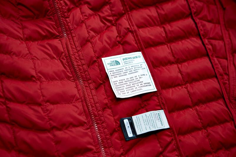 ザ・ノース・フェイス THE NORTH FACE から2020年のアースデイを記念したリメイクコレクションが登場 The North Face Remade Collection Earth Day 2020 Sustainable Garments Renewed Design Residency Upcycled One of a kind environmental impactGarment Repair How-To Self-Isolation At Home Self-Made Tips