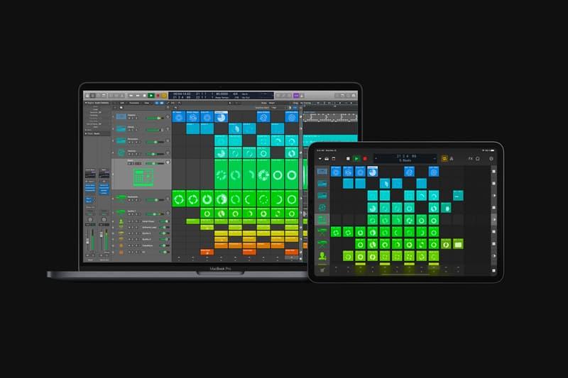 アップル ロジック プロ X Apple が Logic Pro X を発表以来最大のアップデート Apple Logic Pro X 10 5 Update Info live loops quick sampler beat creation step sequencer drum synth machine designer remote
