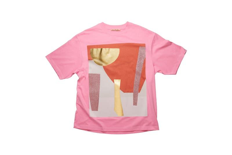 Acne Studios が気鋭アーティストのダニエル・シルバーとコラボTシャツを発表 daniel silver acne studios t shirt special edition capsule tees fashion clothing apparel style