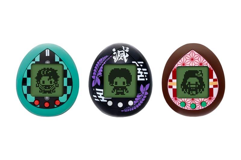 """『鬼滅の刃』x たまごっちのコラボによる""""きめつたまごっち""""が登場 炭治郎は、鬼によって家族を惨殺され、妹の禰豆子 善逸・伊之助 Bandai Demon Slayer Kimetsu no Yaiba Tamagotchi Nezuk Kisatsutai toys characters raise collectibles accessories gaming pet riceballs tea gadgets"""