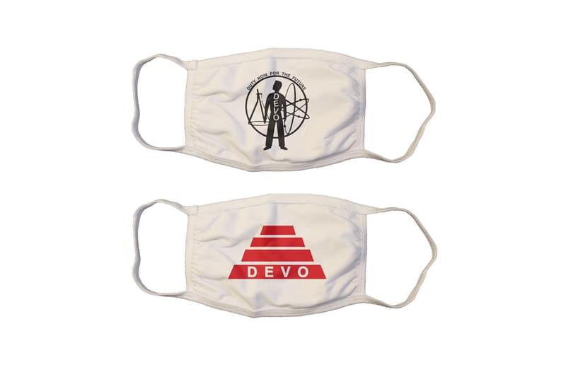 ディーヴォがエナジードーム型のフェイスシールドを発表 DEVO Energy Dome Face Shield Release  70s music techno dance new wave synth bob mark Mothersbaughs covid-19 coronavirus industrial  Freedom of Choice
