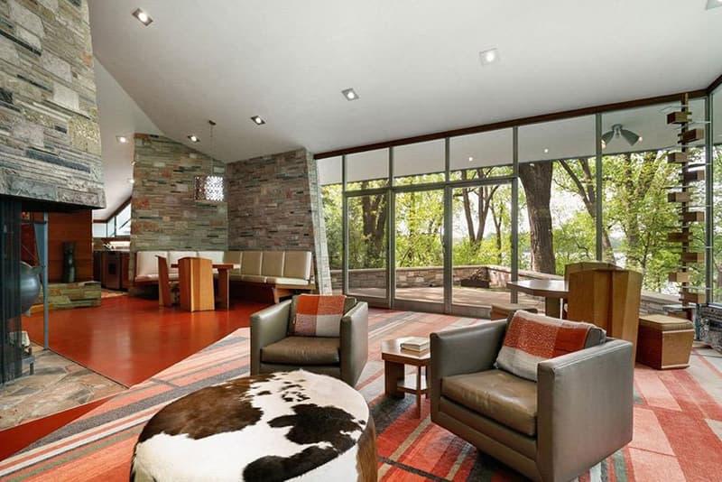建築界の巨匠 フランク・ロイド・ライトが手がけた住宅が約3億円で売り出し中 Frank Lloyd Wright Neils House up for Sale Sotheby's International Realty Architecture Minneapolis Cedar Lake 1949
