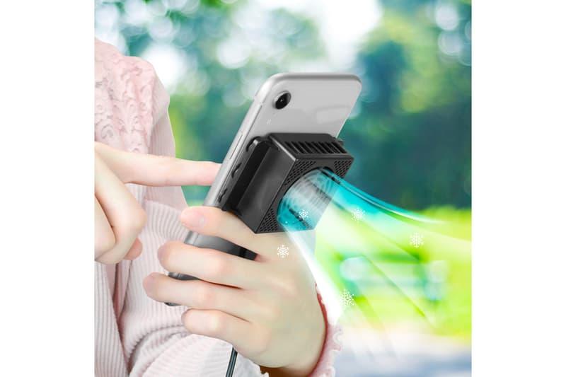 『あつ森』のヘビーユーザーに最適なモバイルクーラーが発売 Gamers Mobile Cooler Nintendo Switch Overheating console iphone silent fan game tech japan hot summer devices 13 degrees celsius 55 degrees Fahrenheit usb import smartphones phones mobile
